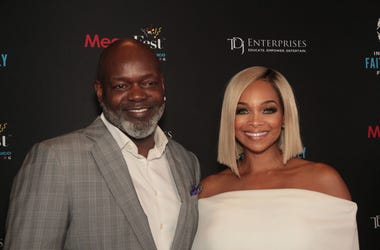 Emmitt Smith and Pat Smith attend the MegaFest 2017 International Faith and Family Film Festival at Omni Hotel on June 30, 2017 in Dallas, Texas.