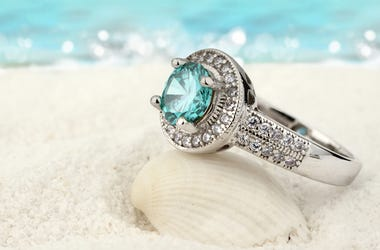 Jewelry, Ring, Ocean, Beach