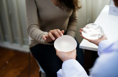 Breast Implants, Woman, Surgeon, Office, Silicone