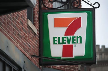 A sign hangs outside of a 7-Eleven store on January 10, 2018 in Chicago, Illinois. Immigration officials raided nearly 100 7-Eleven stores across the country this morning checking the immigration status of store employees.
