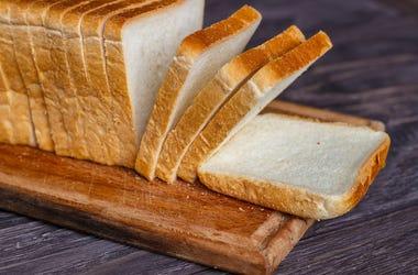 Bread, Loaf, Wooden Board, Background