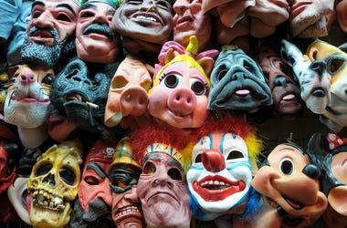 Halloween, Masks, Shop, Costumes, Store, Halloween Masks