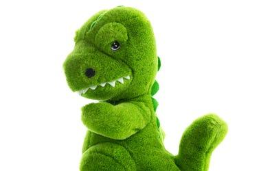 Stuffed Dinosaur, Toy, Doll, Plush