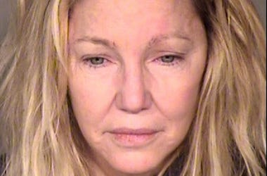 VENTURA, CA - JUNE 24: (EDITORS NOTE: Best quality available) In this handout photo provided by the Ventura County Sheriffs Office, actress Heather Locklear is seen in a police booking photo after her arrest on two counts of misdemeanor battery on a polic