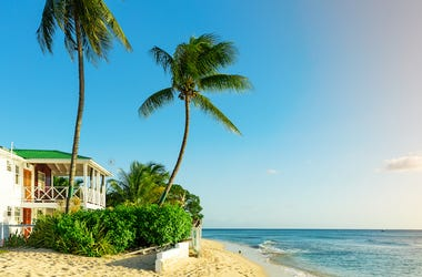 Barbados, Beach, House, Ocean