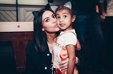 Kim Kardashian, North West