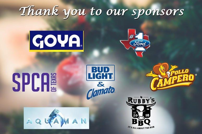 2018 4th Annual DFW Tamale Festival Sponsors