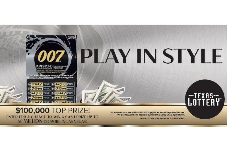 007 tx lottery