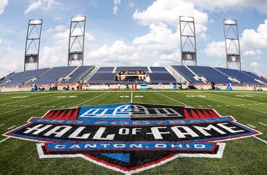 NFL, Hall of Fame, Field, Stadium, Logo