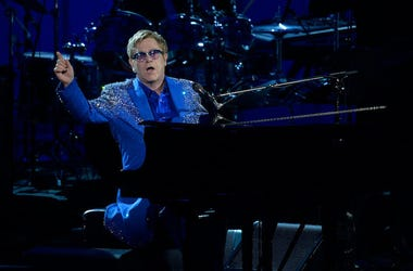 Elton John, Performing, 2013 Emmy Awards
