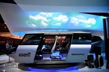 Bell Helicopter electric flying taxi