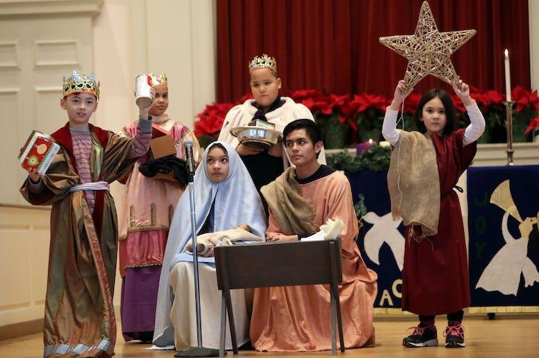 Christmas Pageant, Kids, Play, Christmas Play, 2018