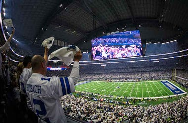 Dallas Cowboys, Fans, AT&T Stadium, Wildcard Game, 2019