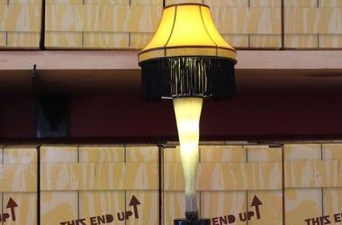 A Christmas Story, Leg Lamp, Christmas Story Gift Shop