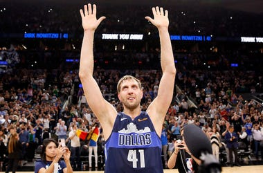 Dirk Nowitzki, Dallas Mavericks, Waves, San Antonio Spurs, AT&T Center, 2019