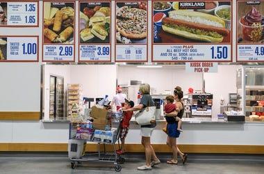 Costco, Food Court, Menu, Food