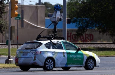 Google Maps Street View, Car, Driving, Maps, Google Maps