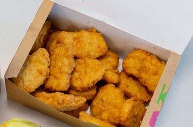 McDonald's, Chicken Nuggets, Box, White Background