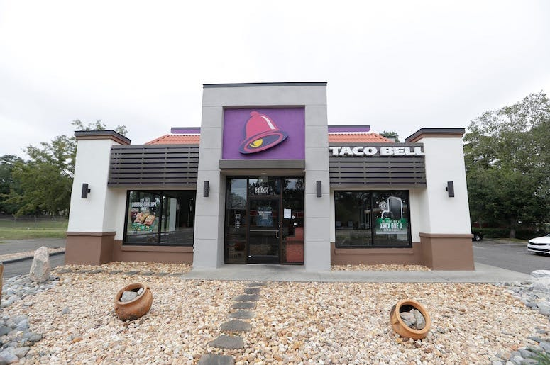 Taco Bell, Restaurant, Tallahassee, Exterior, 2019