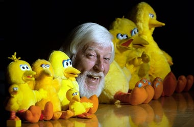 Caroll Spinney, Big Bird Dolls, Toys, Smile, Pose, 2002