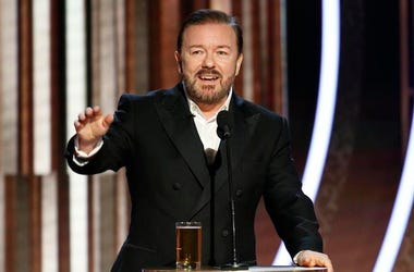 Ricky Gervais, Monologue, Golden Globes, 2020