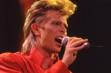 David Bowie, Concert, Singing, Glass Spider Tour, 1987