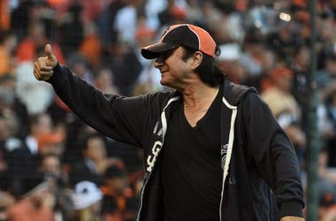 Steve Perry, San Francisco Giants, NLDS, Playoffs, 2014, Thumbs Up