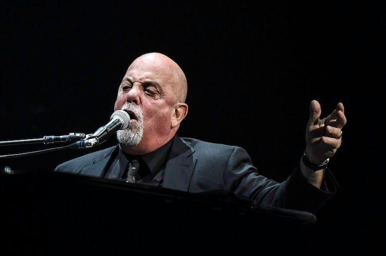 Billy Joel, BB&T Center, Singing, 2016