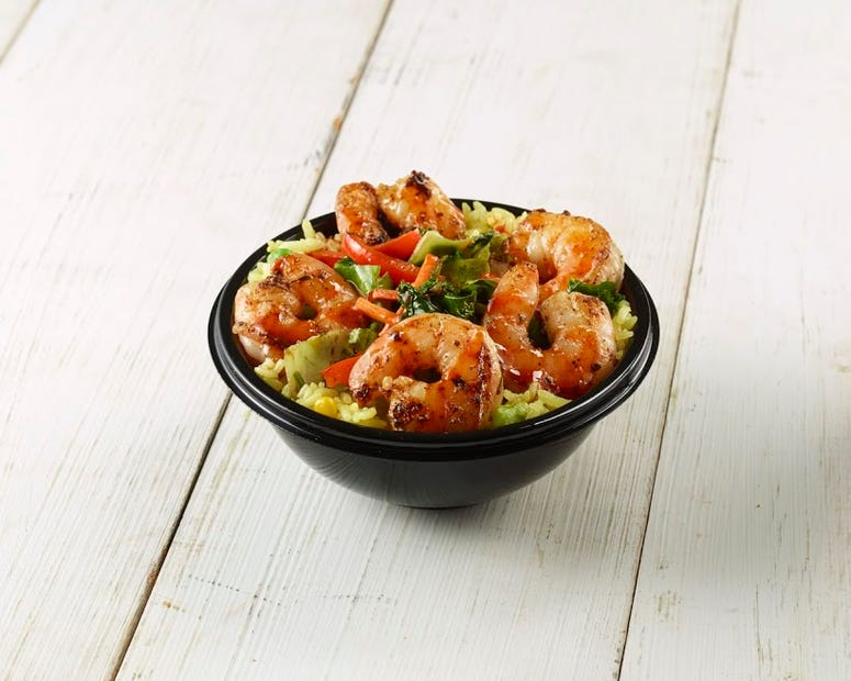 Calypso Island Shrimp Bowl (Photo credit: State Fair of Texas®)