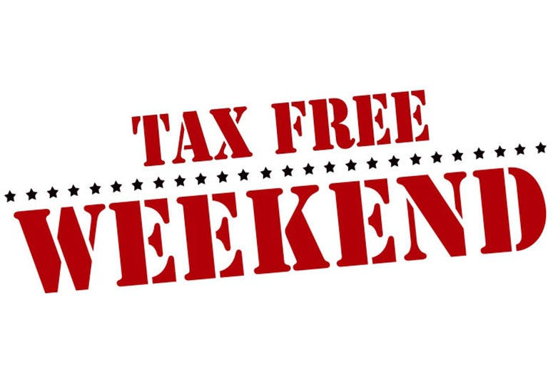 Annual Texas Tax Free Shopping Weekend Is Friday Sunday 98 7 Kluv