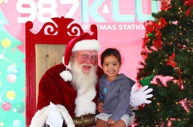 Santa At DFW Tamale Festival