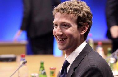 Facebook CEO Mark Zuckerberg