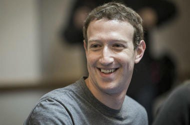 Mark Zuckerberg in Agreement