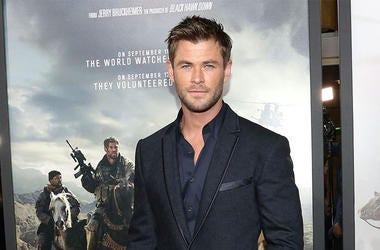 Chris Hemsworth 12 Strong Premiere