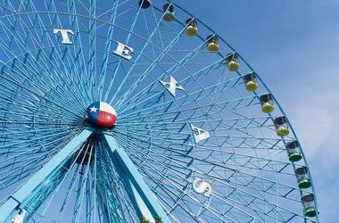 Texas Star ferris wheel at State Fair of Texas