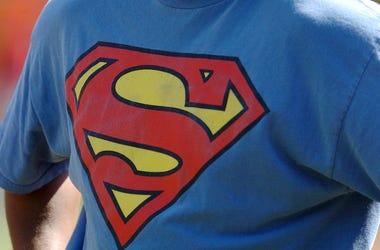 Superman, Shirt, T-Shirt, Logo