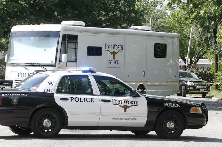 Fort Worth, Police, Vehicle, Neighborhood, 2014