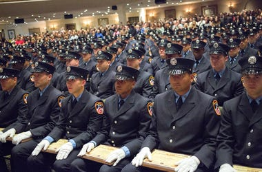 FDNY, Fire Department of New York, Firefighters, Graduation Ceremony, 2014