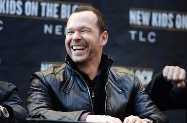 Donnie Wahlberg, Press Conference, New Kids on the Block, New York, 2015