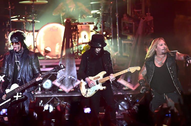 Motley Crue, Concert, Live, Wembley Arena, London, 2015