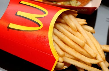 McDonald's, French Fries, Box, 2015