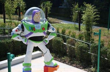 Buzz Lightyear, Statue, Toy Story Hotel, Shanghai, 2016