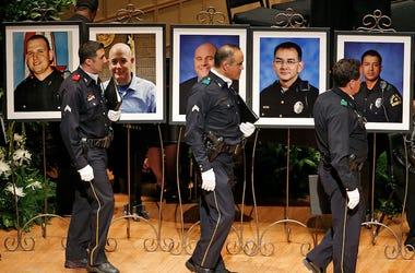 Dallas Police Department Choir, Funeral, Dallas Police, 2016