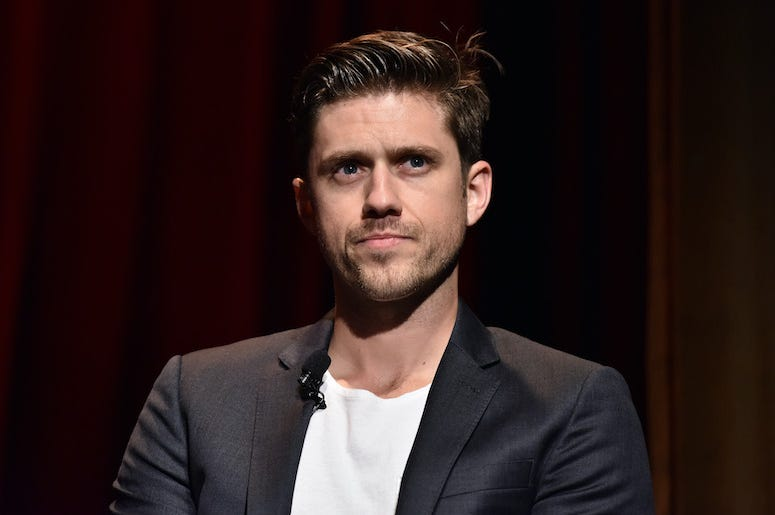 Aaron Tveit, Grease: Live!' Q&A, 2016