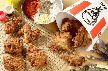Kentucky Fried Chicken, KFC, Fried Chicken, Bucket, Herbs and Spices