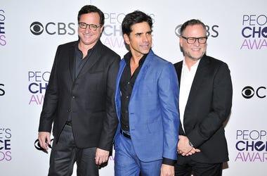 Bob Saget, John Stamos, Dave Coulier, Red Carpet,  People's Choice Awards, 2017
