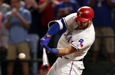 Joey Gallo, Texas Rangers, Batting, Home Run, 2017