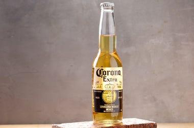Corona Extra, Beer, Pose, Studio, Bottle