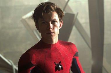 "Tom Holland as ""Spider-Man"""