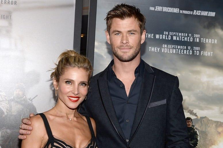 Elsa Pataky and Chris Hemsworth